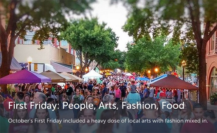First Friday in downtown Lakeland