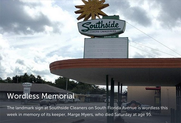 Southside Cleaners memorial