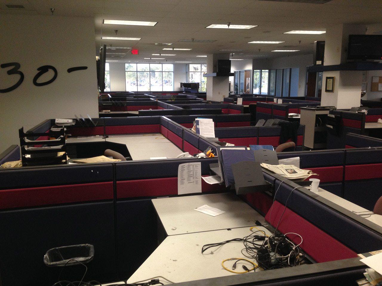 Ledger newsroom