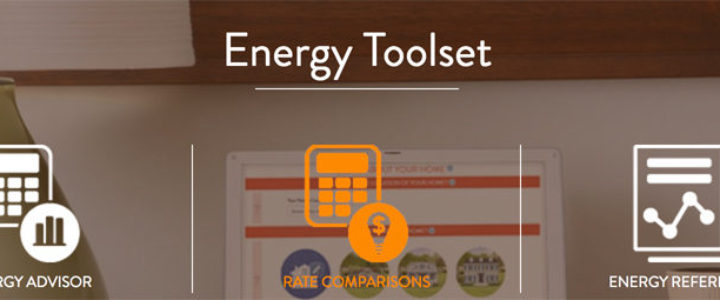 Energy page header