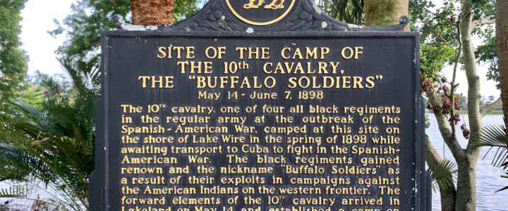 Buffalo Soldiers historical marker